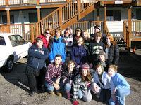Group photo at B-2-C campus