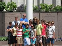 Utah Team at Temple Square
