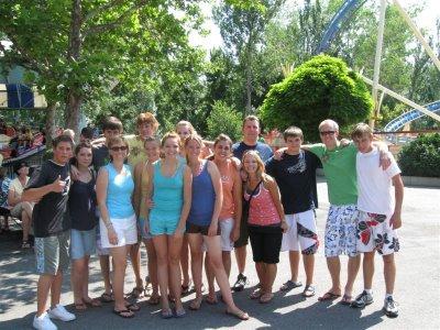 Utah Team at Lagoon Amusement Park