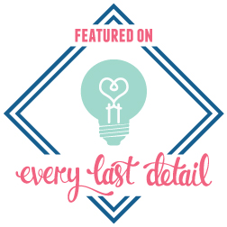 Every Last Detail Blog Logo