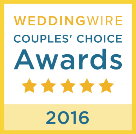 Wedding Wire Couple's Choice Awards Badge