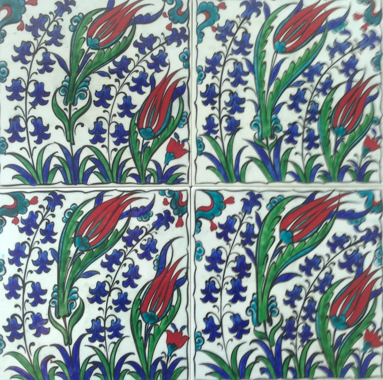 CAMPANULA / two by two tiles / 30 x 30cm
