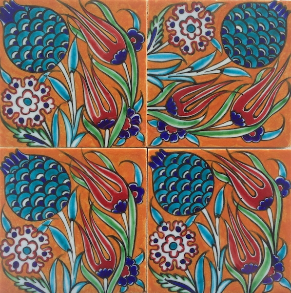 ZEYNEP  / Marigold / two-by-two / 20 x 20cm
