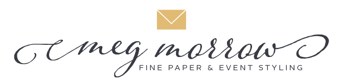 Meg Morrow Fine Paper & Event Styling