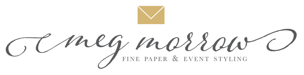 Meg Morrow Fine Paper Wedding Invitations