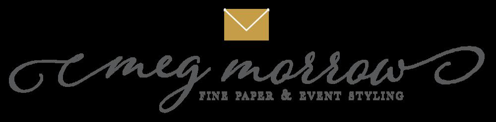 Meg Morrow Fine Paper Wedding Invitations