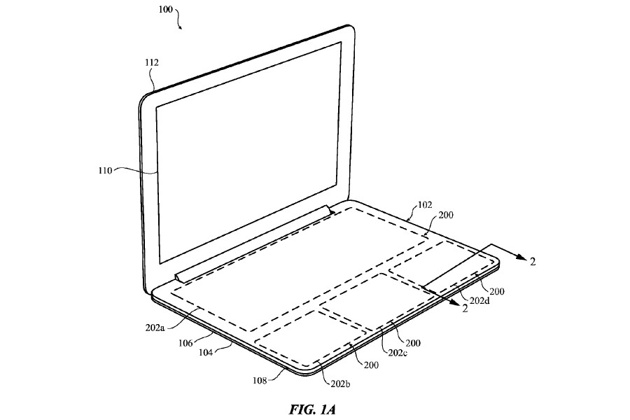 Apple patent filed 9/28/2015.