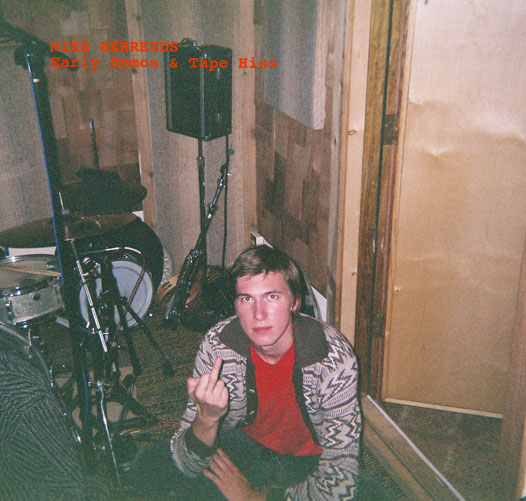 Album cover photo taken by Eric Drommerhausen with a disposable camera on the floor of some studio somewhere quite a few years ago.