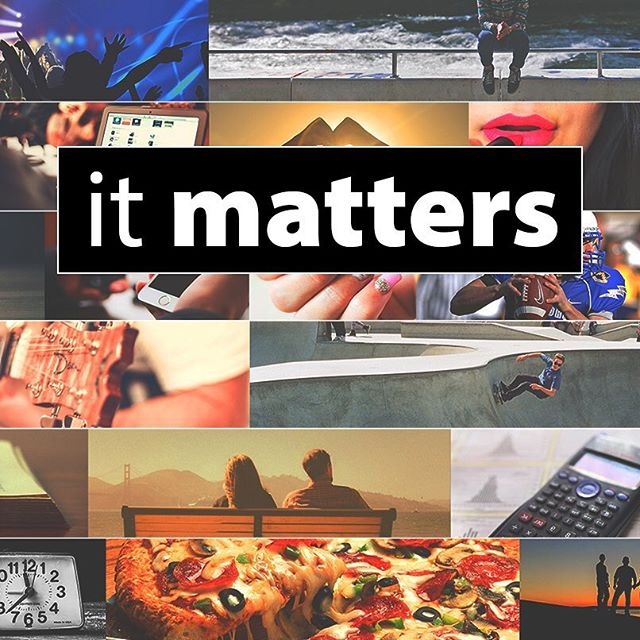 "This week we will talk about courage  in our series ""it matters""! Come join us Wednesday night 6:45-8pm and bring your friends! #itmatters #courage #fbmstudents"