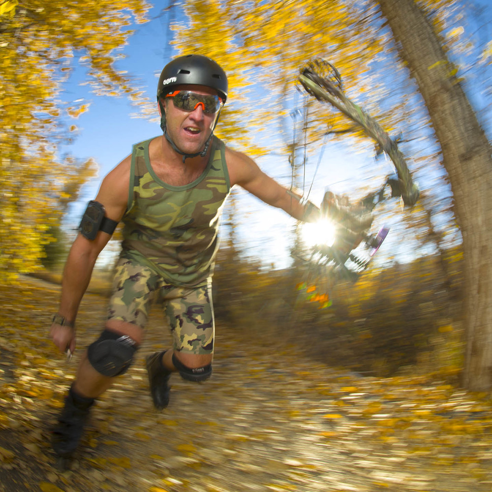 Roller Hunting - the latest fitness hunting craze!  Read the   Outside Bozeman article!