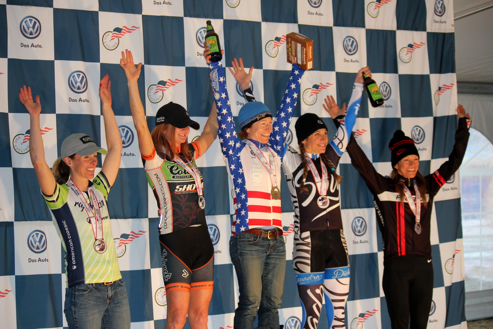 Podium! Photo: Mountain Moon