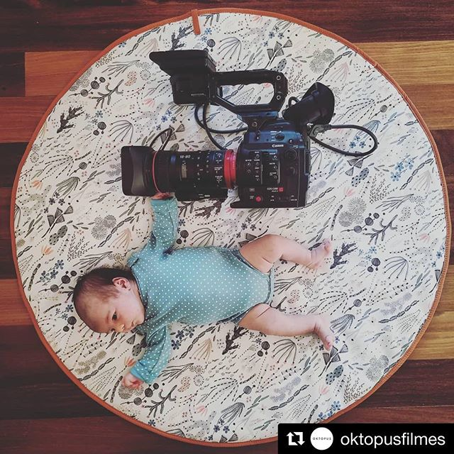 This is the reason I have been disconnected for so long. I will slowly get back. But for now, we are teaching the game we play right from the start.  #Repost @oktopusfilmes ・・・ Oktopus babies! Thank you @canonbr #oktopusfilmes #baby #canonbr #cinemaeos #c300 #c300markii #cinematography