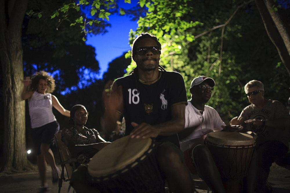 Central Park Drum Circle
