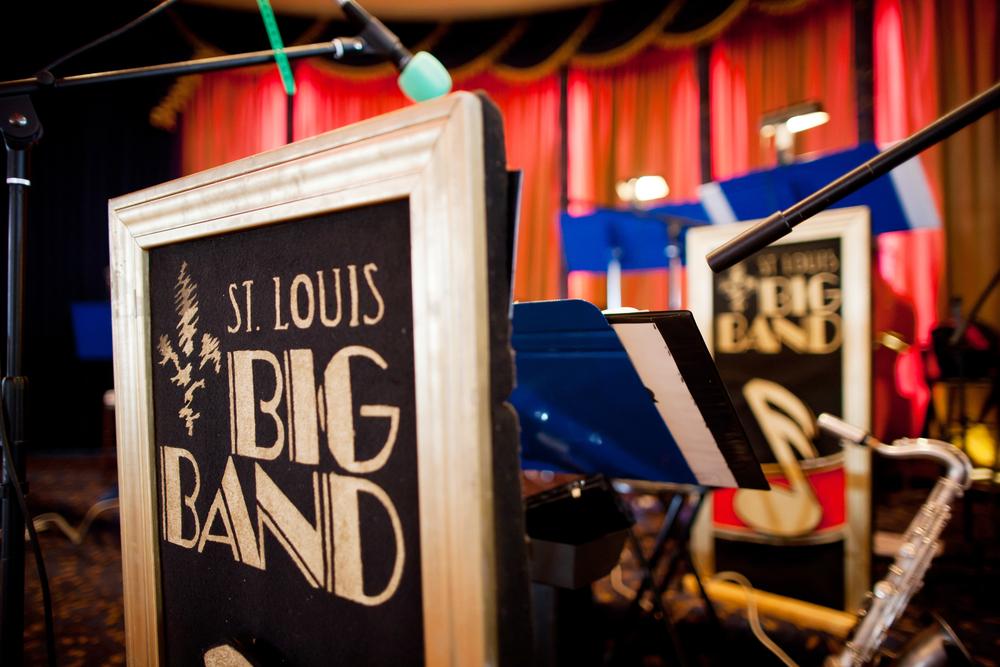 St. Louis Big Band Bandstand at Wedding