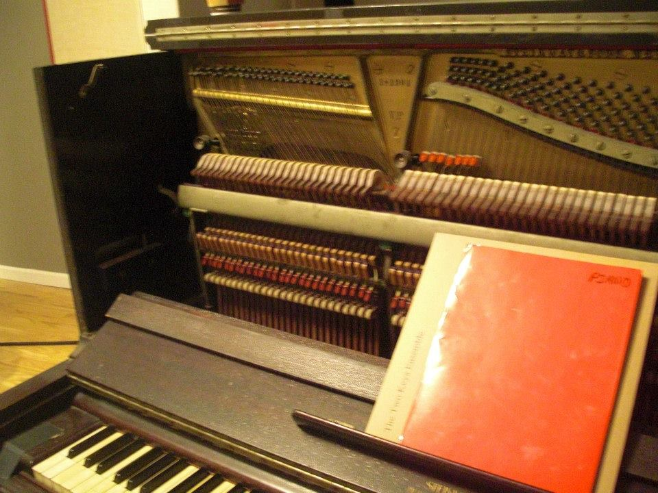 Piano at STLBB Recording Session