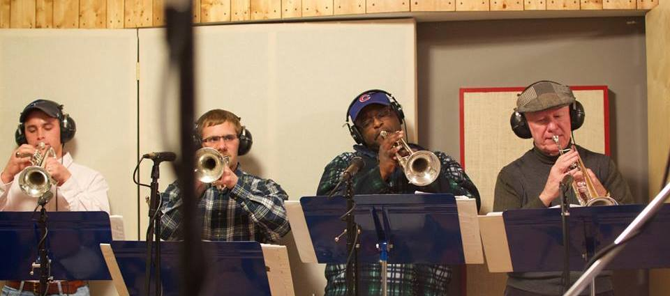 STL Big Band Members In Studio
