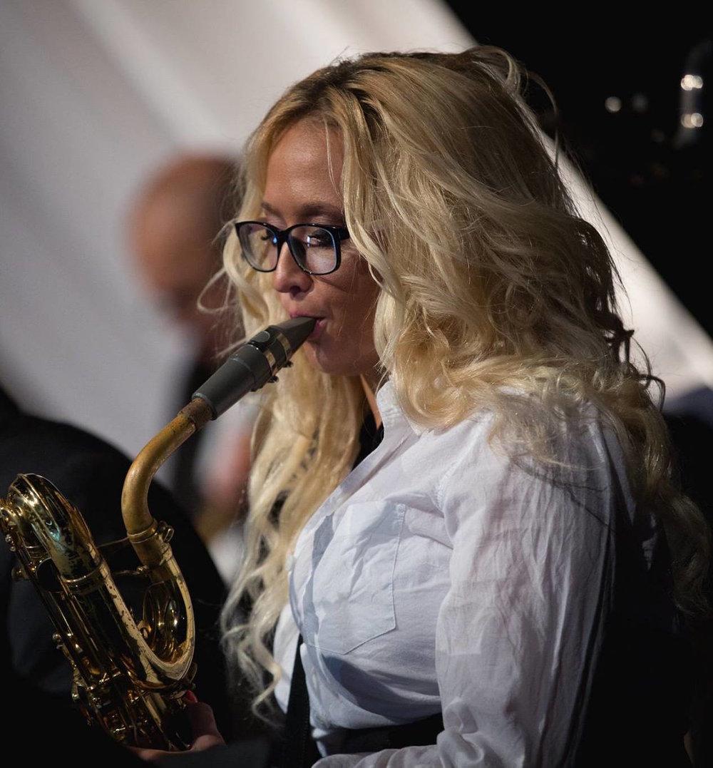 Linda Rose Branham, Baritone Sax