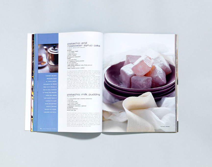 DESIGNED : Food from Our travels Published by Vogue Living