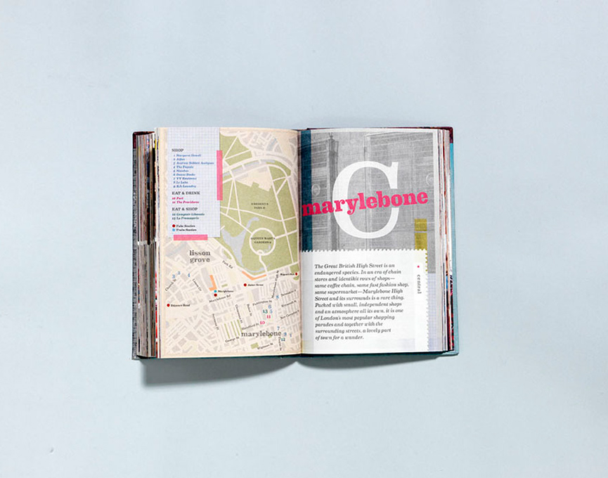 PUBLISHED : London Style Guide by Saska Graville + designed by Miriam Steenhauer + Murdoch Books