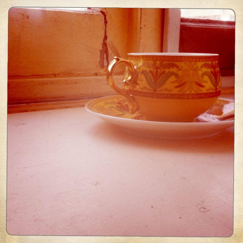 Saturday morning cuppa.