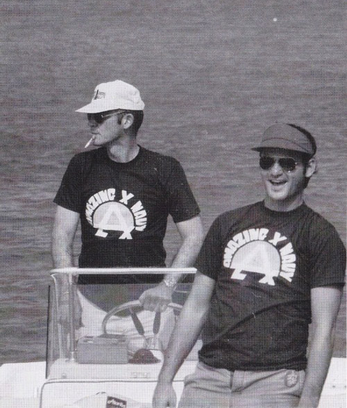 Pretty sure this photo of Bill Murray and Hunter S. Thompson just made my Monday morning 10 times better (via This Is Not Porn)