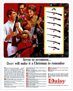 Celebrate a Merry Christmas … with guns for the whole family.