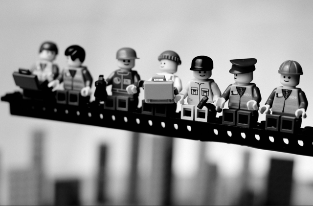 Classic photographs  reinvented using one of my favourite things in the world, Lego.