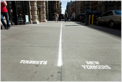 Tourist Lanes  by   Jeff Greenspan  … You may also know him as the master mind behind  Urban Traps .