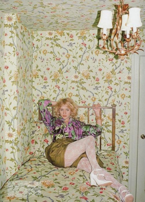 CHLOE CHLOE CHLOE    VIA bohemea : Chloe Sevigny - Self Service by Terry Richardson, Spring 2007