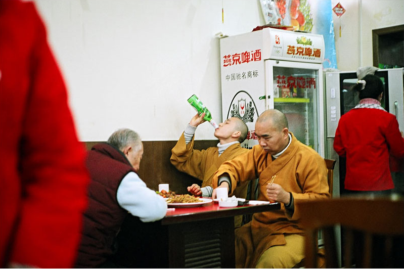 Drunk Monks. I love this photographer's site, it has some great shots of China.