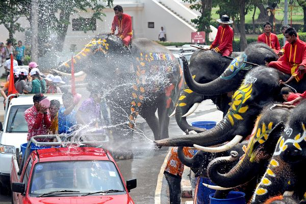 Songkran festivities are making me homesick for my old (adopted) home of Bangkok.