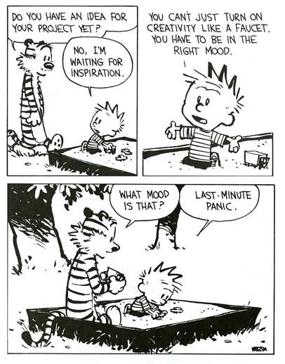 Calvin speaketh the truth.