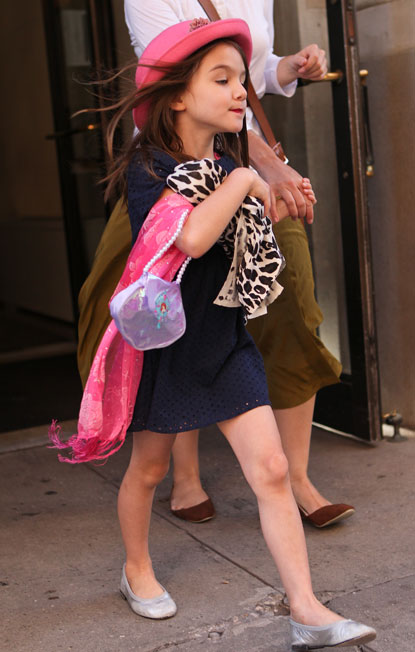 """""""Everyone knows I only carry my Little Mermaid bag ironically""""      From one of the funniest celebrity-piss-taking blogs around:  Suri's Burn Book"""