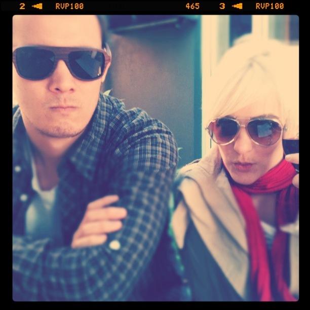 Bits of Block: Richie and moi at The Brissy. via bitsofblock