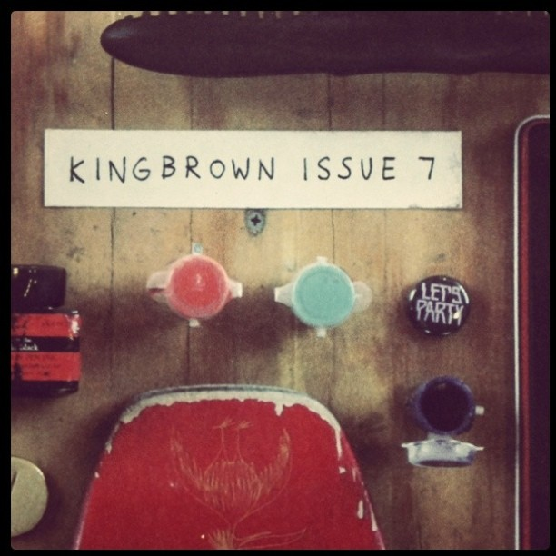 @kingbrown keeping me entertained and my desk looking good