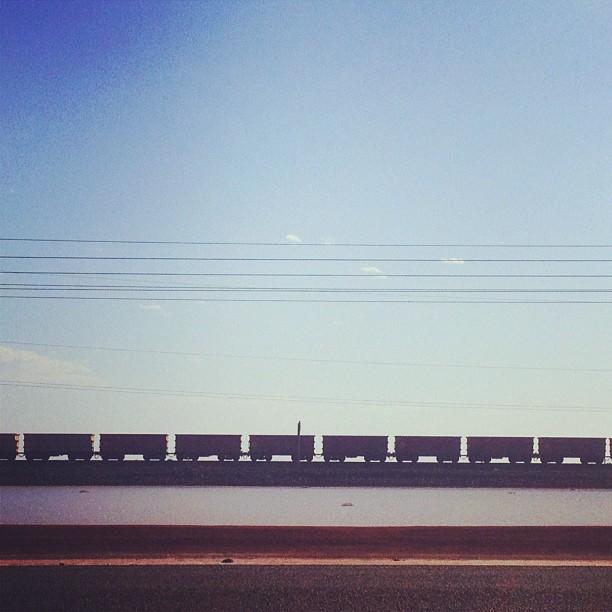 Iron laden. In Karratha, Western Australia
