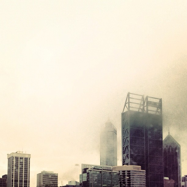 Morning Fog #Perth