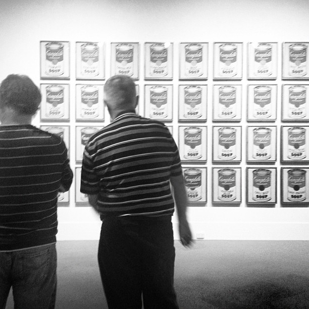 """I think they call this art, mate."" #warhol #moma (at Art Gallery Of Western Australia)"