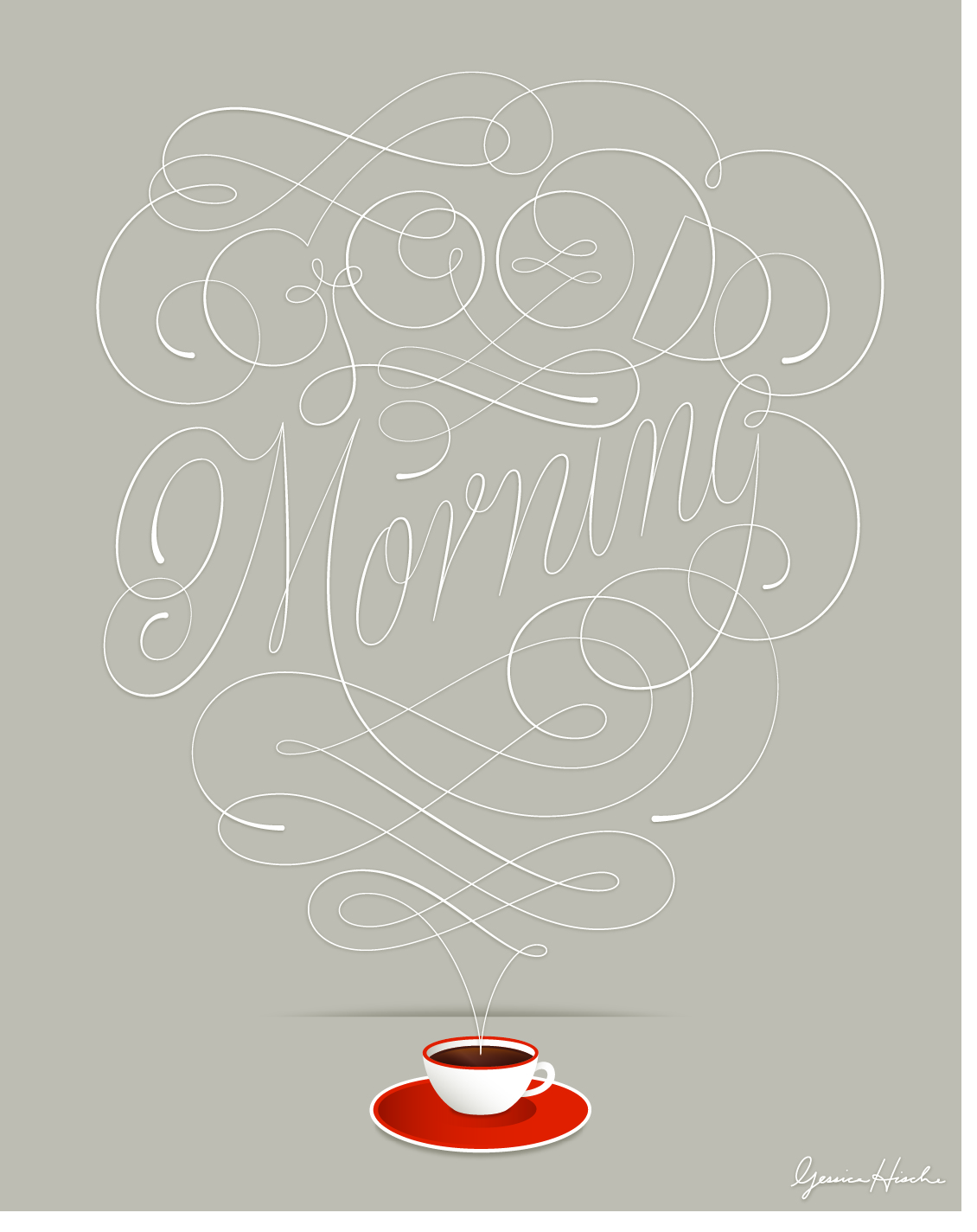 Typeverything.com - Good Morning by @ JessicaHische .