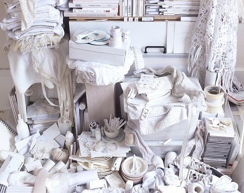 Helga Steppan, All my things, white (2004)