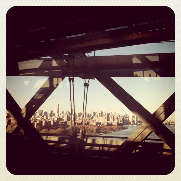 NYC from the J train via  kingbrownmag :