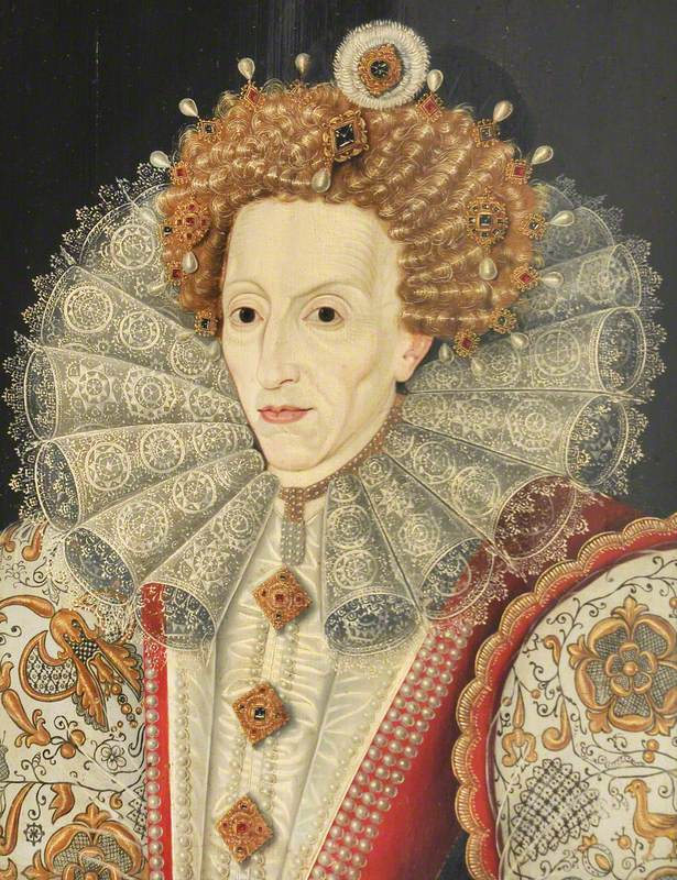 Elizabeth I (1533–1603) by British (English) School, 16th century