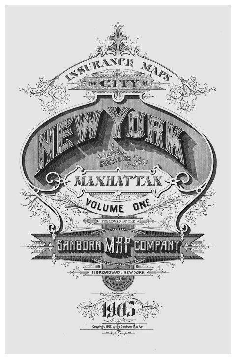 Beautiful typography of New York City maps from yesteryear (via  The Typography of Sanborn New York City Maps )