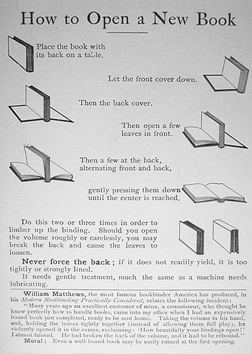 nevver :      How to Open a Book