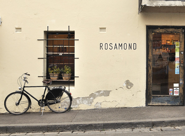 Top 200: Local View: Australia 'A street shot of Cafe Rosamond, the ultimate hard-to-find cafe here in Fitzroy. A lovely warm space by day that transforms into something quite special at night' Local view: Australia by chef Pierre Roelofs