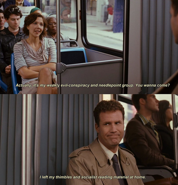 Why am I reblogging this seemingly innocuous clip from  Stranger Than Fiction ? Because it's one of the best movies. Ever. A movie filled with so many seemingly innocuous moments, which actually come together to make a movie so very meaningful and full of delight.
