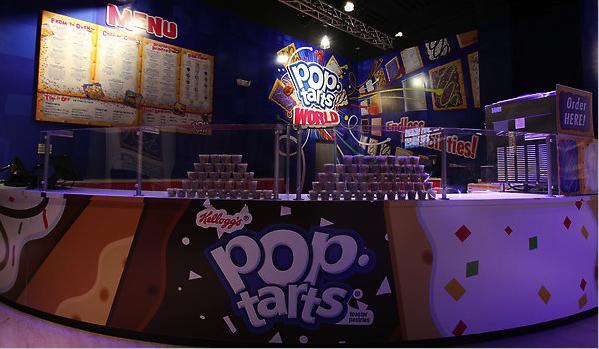 Kellogg's Pop-Tarts is opening its own freakn store in Times Square, including  Pop-Tarts Sushi  on its menu. How much breakfast can one city consume?