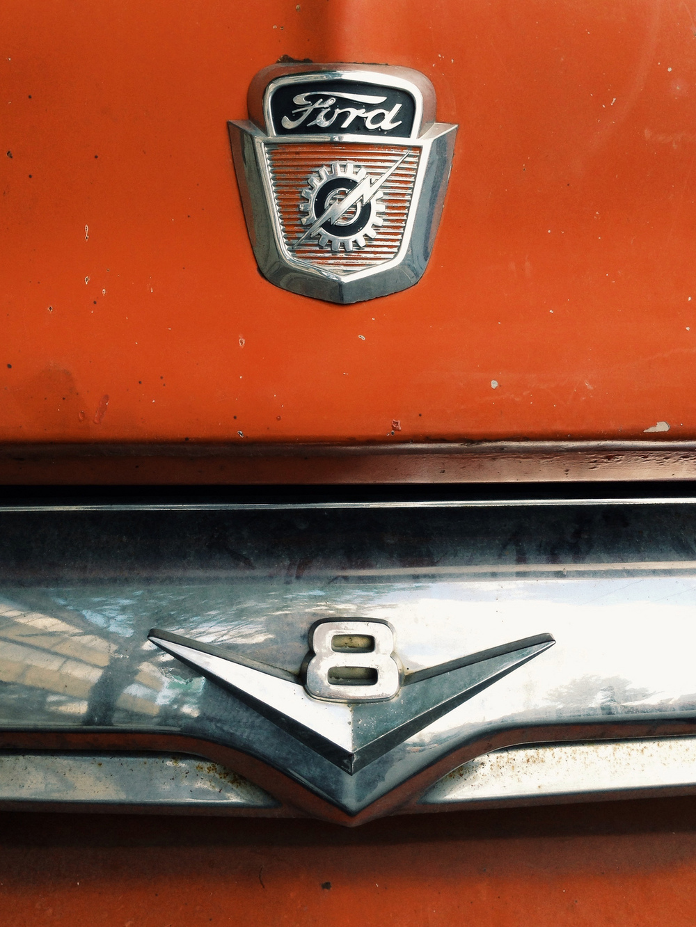 Ford V8. Commercial Drive, Vancouver, BC