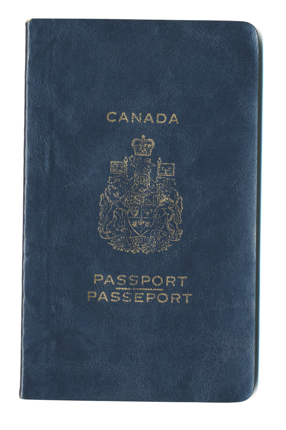 The older Canadian passports were more elegant. Longer aspect ratio, larger size, better typography.