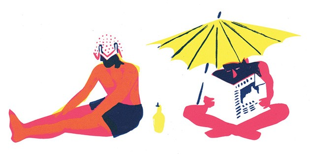 Beach People by   Genevieve Simms